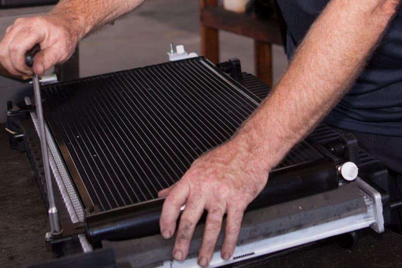Nambour mechanic doing coolant replacement radiator repairs sunshine coast
